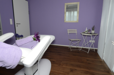 Kosmetikraum, Bellissima, Lavendel, Beautysalon, Beauty, Schönheitssalon