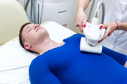 Mann in LPG Behandlung