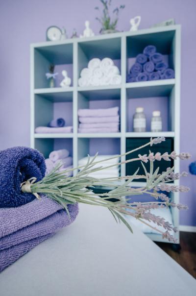 Kosmetik Belissima, Purpur Raum, Lavendelduft